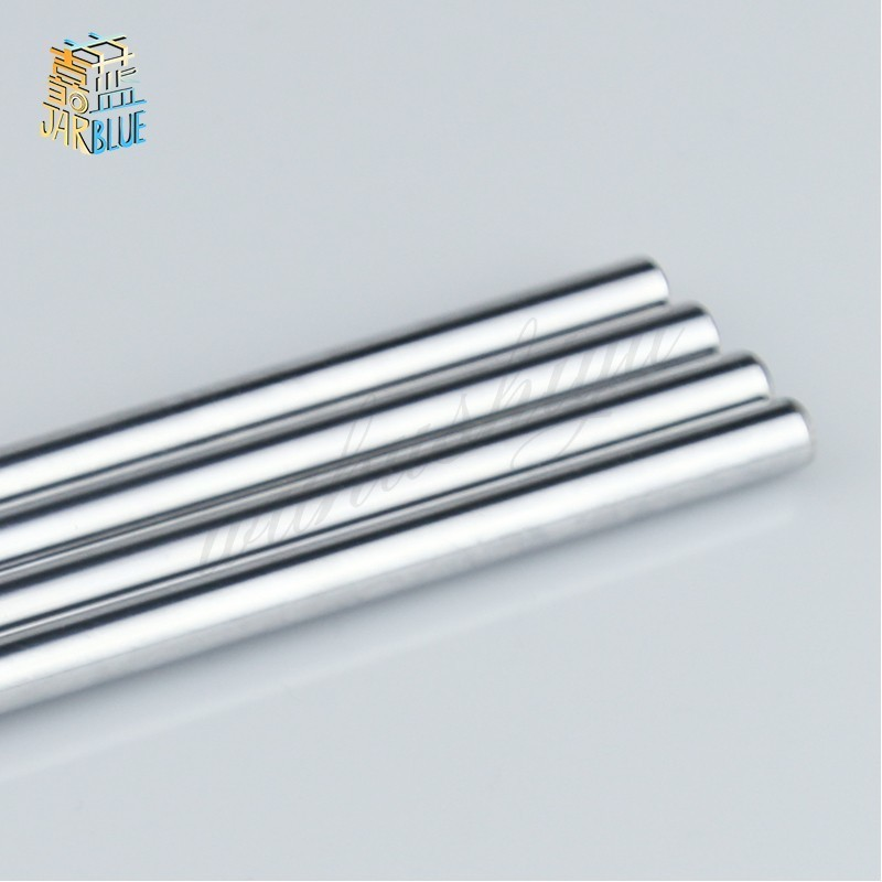 Linear Shaft Diameter 6mm 8mm L-100mm 200mm 300/400/500/600mm  Plated For Machine Linear Rail  Linear Motion Bearing