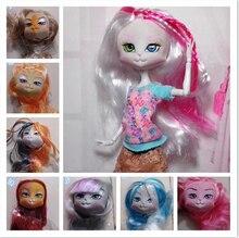 5Pcs lot High Quality LANARD Kitties font b Doll b font Head Mixed Colors Cat Heads