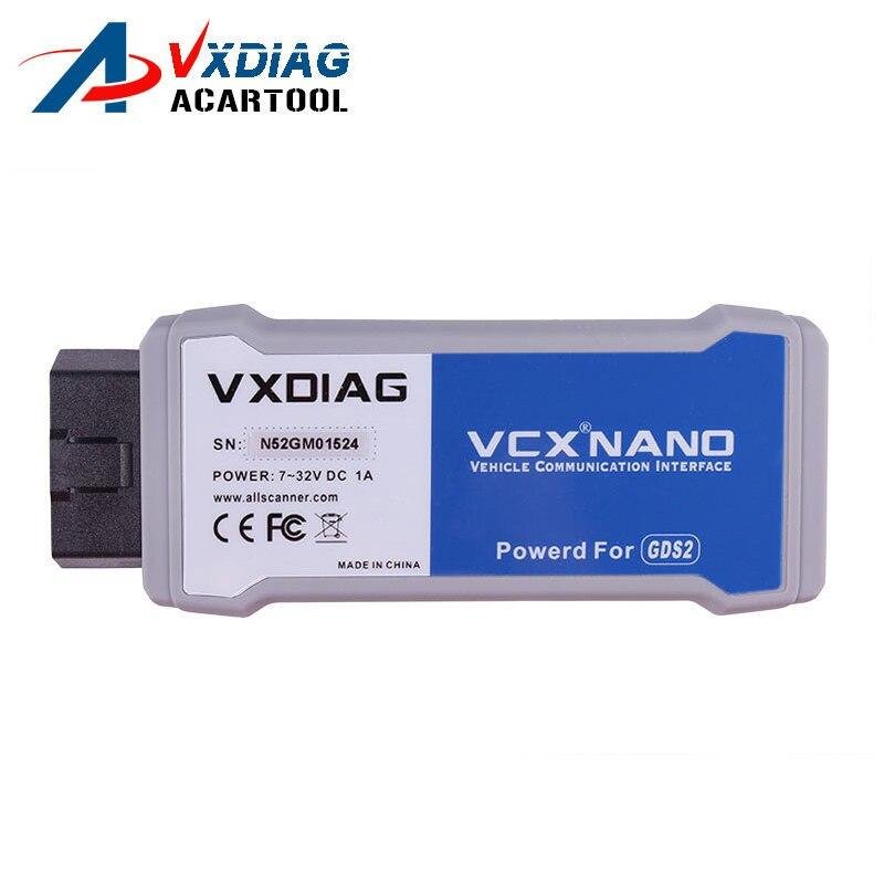 Prix pour 2017 VXDIAG VCX NANO pour GM/OPEL GDS2 tech2win Outil De Diagnostic VXDIAG pour GM Vxdiag VCX NANO Livraison Gratuite