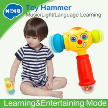 HUILE TOYS 3115 Baby Toys Toddler Play Hammer Toy with Music & Lights Electric Toys Improve Baby's Operation Ability 12 month+(China)