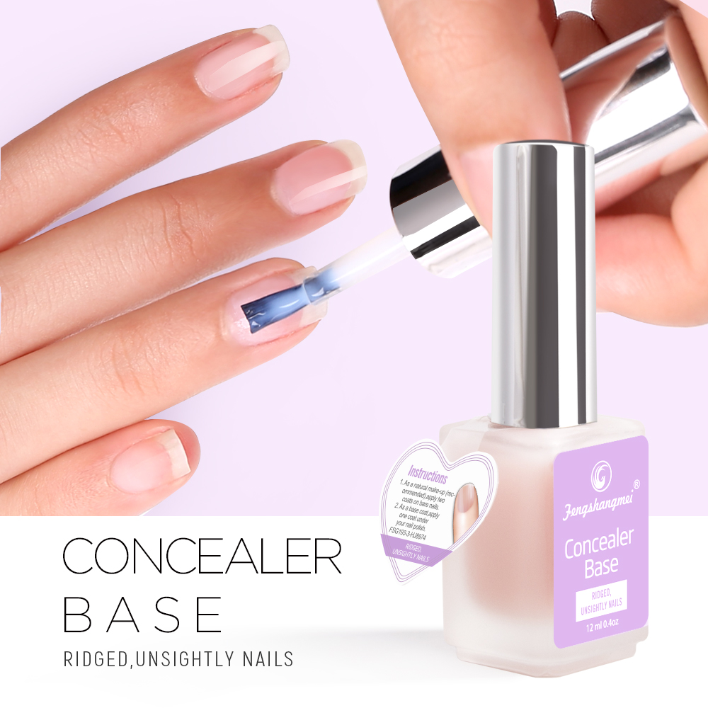 Fengshangmei 12ml Nutritionist Essence Nails Repair Nail Growth Treatment Revitalizer Nail Care Cuticle Concealer Base