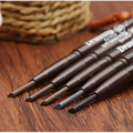 5 Colors Eyebrow Enhancers Retractable Pencil Triangular Tip Eyebrow Pencil High Quality Brand Makeup