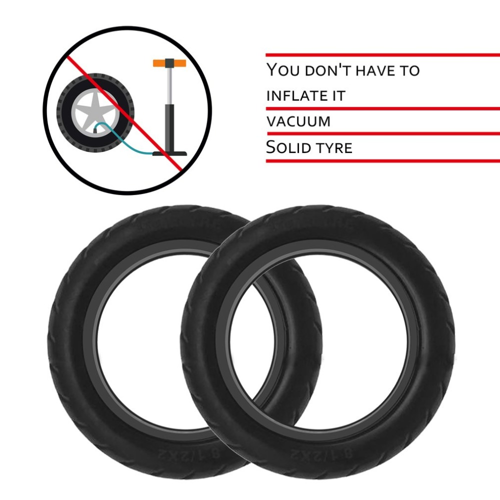 Solid Vacuum Tires 8.5X2 Micropores Suitable For Xiaomi Mijia M365 Electric Skateboard Scooter Non-Pneumatic Vacuum Wheel (6)