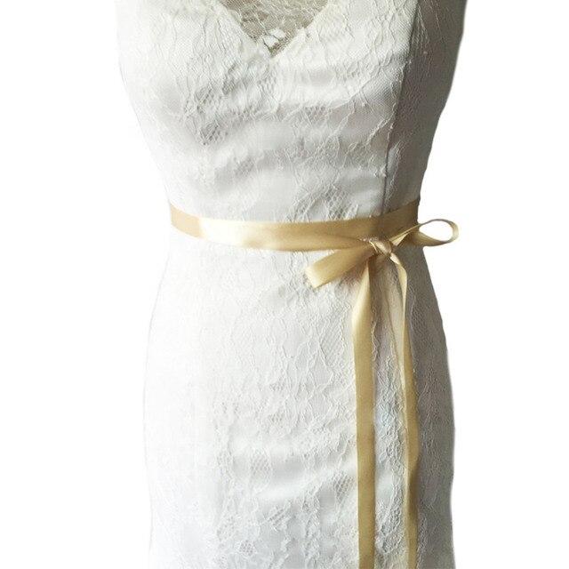 Womens Wedding Sash Elegant Rhinestone Satin Ribbon Bridal Belts Party Bride Bridesmaid Belt Dress Cummerbunds Waistband 4