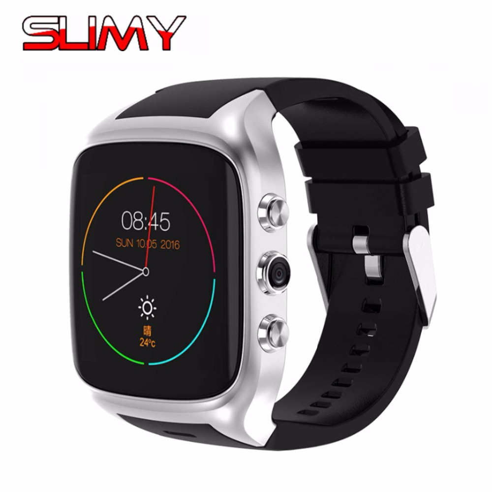 Slimy Smart Watch Android 5.1 Wrist Phone MTK6580 512MB+8GB Smartwatch with 2.0 MP Camera For Men Women Business 600mah Battery adjustable wrist and forearm splint external fixed support wrist brace fixing orthosisfit for men and women