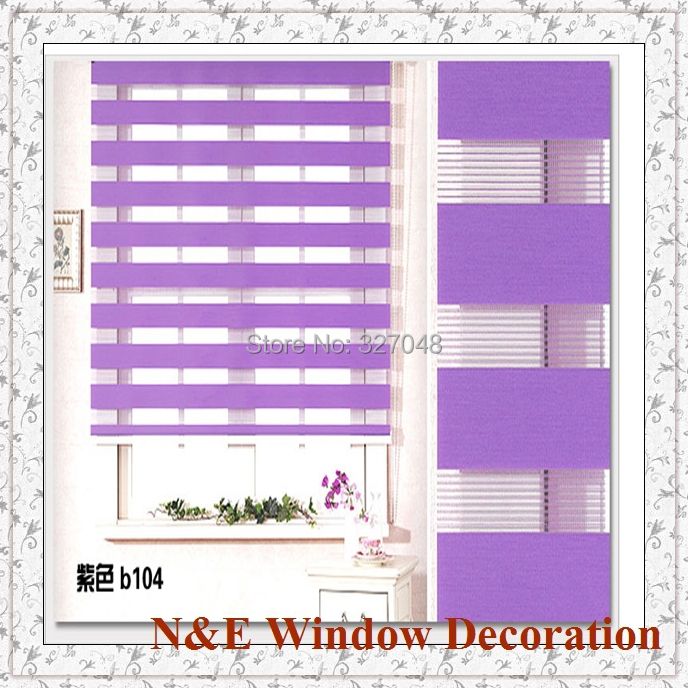Free Shipping Blackout Window Blinds Zebra Roller Blinds Shades And Waterproof Roller Blinds For Living Room
