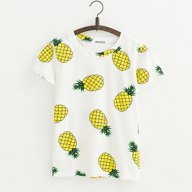 PINEAPPLE T-SHIRT (2 COLORS)