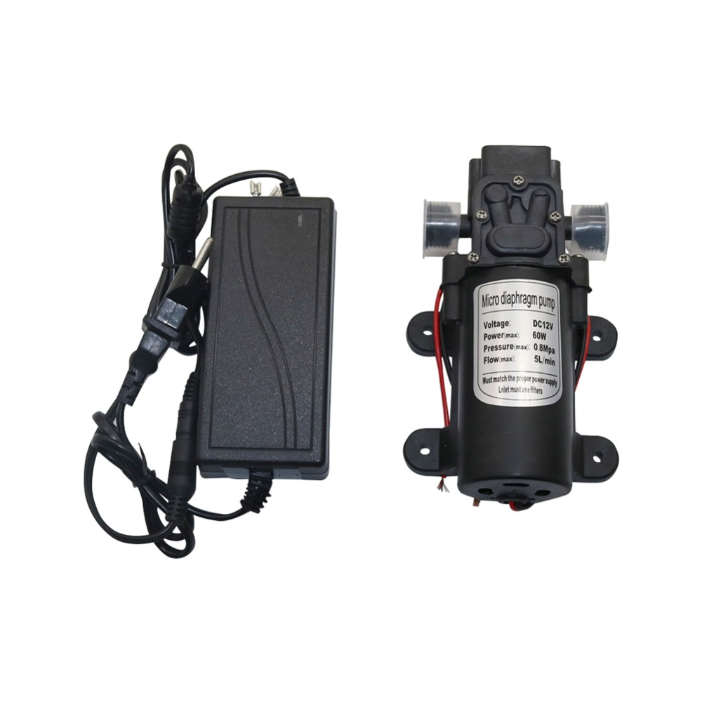 Professional Electric 12V DC Pump 1/2 Inch Agricultural Extractor Transfer Pump Car Wash Watering Diaphragm Self Priming Pump