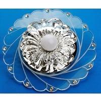 Decoration Crystal Saving Bright Ceiling Blue Light Lamp Fixture Lighting Fashion Chandelier