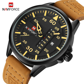 NAVIFORCE Fashion Men Watch Army Military Date Mens Watches Top Brand Luxury Quartz Sport Male Wrist Watch Relogio Masculino image
