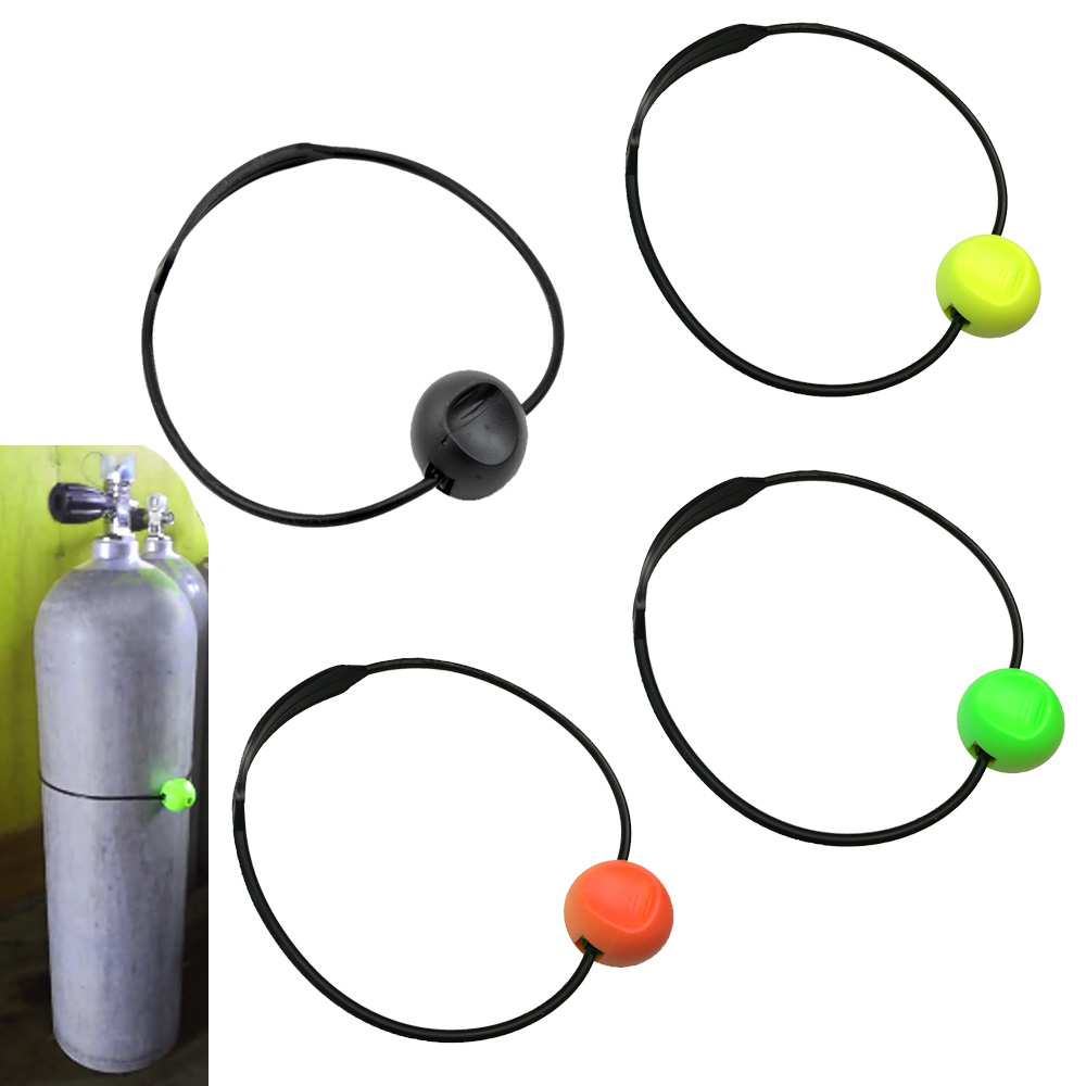 4 Colors Scuba Diving Cylinder Tank Banger Dive Underwater Signaling Noise Maker Device
