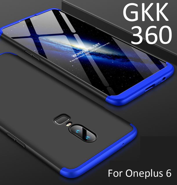 finest selection 16f06 8721f US $3.8 5% OFF|GKK Case For Oneplus 6T 6 360 Full Protection Cover Ring  Holder Finger Grip-in Fitted Cases from Cellphones & Telecommunications on  ...