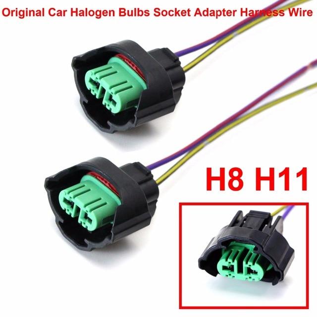 Aliexpress.com : Buy 2PCS H8 H9 H11 Car Original Halogen Bulbs Lamps on h1 headlight wiring, h9 headlight wiring, h13 headlight wiring, h4 headlight wiring,