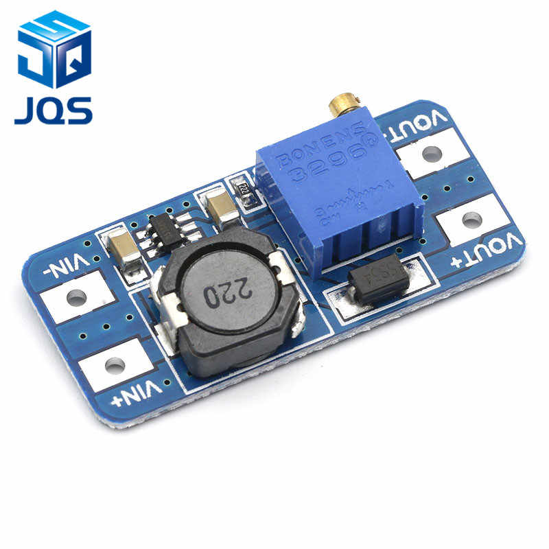 MT3608 DC-DC 昇圧 2A ブーストプレートステップアップモジュールマイクロ USB 2 V-24 に 5 V 9 V 12 V 28 V