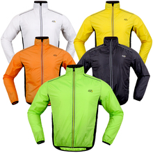 Long Sleeve Cycling Jacket Reflective Waterproof Men's Cycling Windbreaker Raincoat Bike Jacket MTB Road  Bicycle Wind Jackets недорого