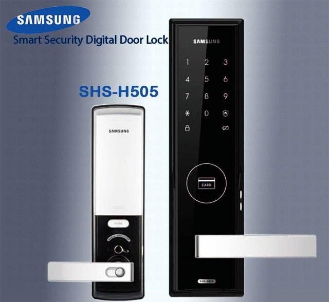 SAMSUNG SHS-H505 Digital Door Lock - US/English Version Big Mortise (password & SAMSUNG SHS H505 Digital Door Lock US/English Version Big Mortise ...