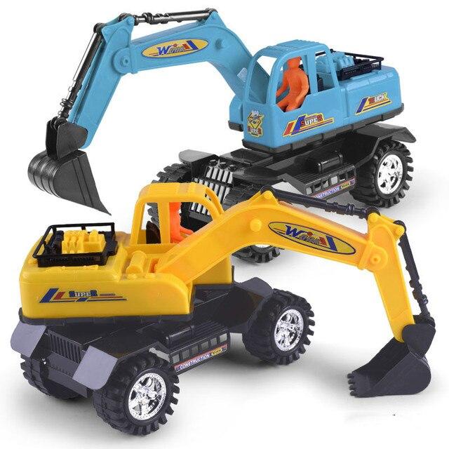 Juguetes Del Bebe Grande Carro De La Ingenieria Excavadora Nino
