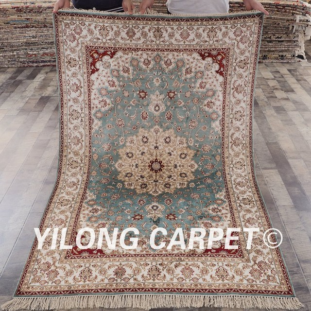 museum oriental art wallhanging wall rug kashan area red products carpet on silk quality design knotted medallion hand rugs