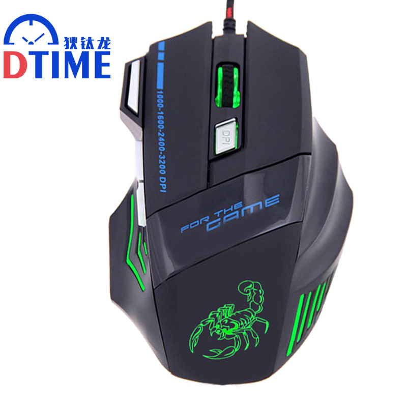 Snigir brand M8 USB 3D Mouse in laptop Computer Pc notebook mice Gaming mouse for Dota2 cs go Games gamer laptop Sem fio raton image