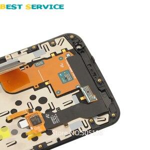Image 3 - 100% test LCD für Nexus 6 Bildschirm Für Motorola Moto Nexus 6 XT1100 XT1103 LCD Display Touch Screen Mit Rahmen digitizer Montage