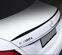 PAINT CAR REAR WING TRUNK LIP SPOILER FOR BENZ W213 E Class 4 Door E200 E220 E250 E300 2016 2017 2018 AMG STYLE