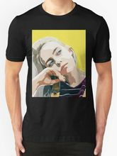Billie Eilish New T-Shirt Men's Black Printed Round Men T Shirt Cheap Price Top Tee Short Sleeve T Shirt Fashion Plus Size все цены