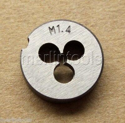 1.4mm X .3 Metric Right Hand Thread Die M1.4 X 0.3mm Pitch