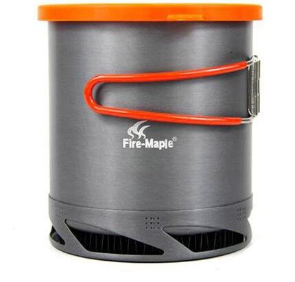Огонь Клен FMC-XK6 открытый Портативный теплообменник горшок Кемпинг Кухонная посуда Открытый чайник 1l