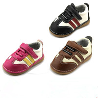 Free Shipping Children Genuine Leather Shoes Sound Whistle Shoes Child Shoes Toddler Shoes Spring Autumn Didi