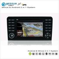 YESSUN Cho Mercedes Benz GL Lớp X164/ML Lớp W164 Car Android Đa Phương Tiện Đài Phát Thanh CD DVD GPS Navigation Map Âm Thanh Video