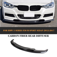 D Style Carbon Fiber Trunk Rear Wing for BMW 3 Series F30 M Sport Sedan 4-Door 2012-2016