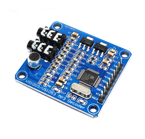 VS1003B VS1053 MP3 Module Development Board Onboard recording image
