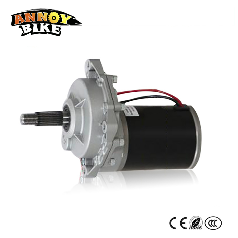 24v36v48v72v balancing Electric bicycle Scooter brush gear motor Permanent magnet DC motor Self balancing Electric Scooter цена