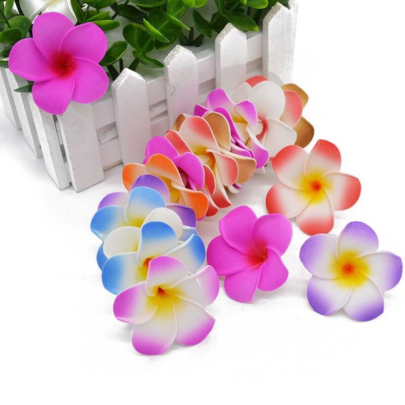 20pcs/lot Artificial PE Foam Flowers Egg Flower Bouquets Headdress Wedding Party Decoration Accessories 5cm Flower Head 7Z