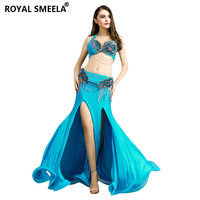 2020 Women Belly Dance Clothes Stage Performance Dance Wear Diamond Belly Dance Set Professional Belly Dance Costume Set 8831
