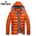 tangnest New Arrival 2017 Man's Casual Comfortable Coat High Quality Warm For Winter Plus Size M-3XLMen Coat Wholesale 516