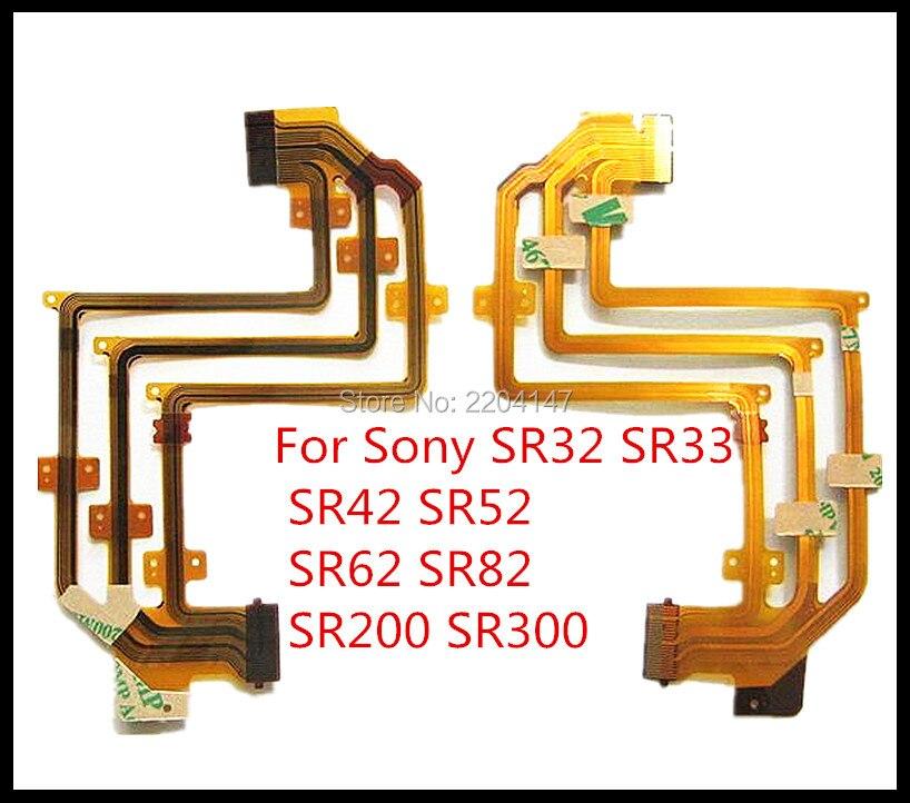 3 قطع/شحن مجاني! lcd الكابلات المرنة لسوني DCR-SR32E DCR-SR33E DCR-SR42E DCR-SR52E DCR-SR62E SR32 SR33 كاميرا sr82 sr200 sr300