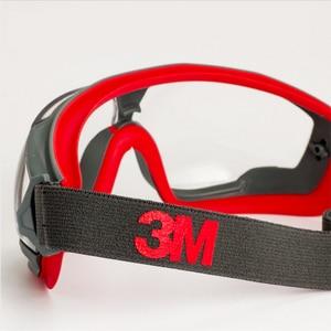 Image 5 - 3M GA501 נגד השפעה אנטי splash בטיחות משקפיים Goggle ספורט אופניים כלכלה ברור אנטי ערפל עדשה הגנה על העין עבודה