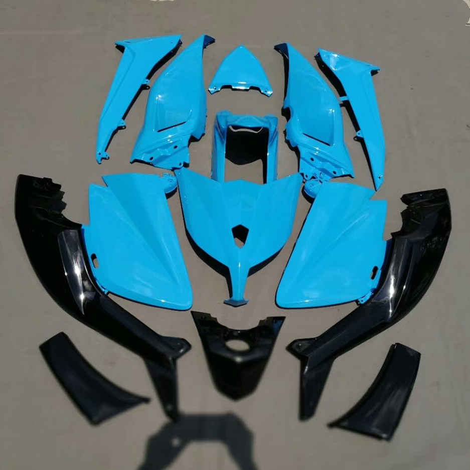 Motorcycle Bodywork Kit Fairing For Yamaha TMAX530 T-MAX 530 2012 2013 2014 TMAX 530 12 13 14 Sport Bike Injection Mold Fairings hot sales cheap price for yamaha tmax 530 2012 2014 t max 530 tmax530 matte black sport bike abs fairing injection molding