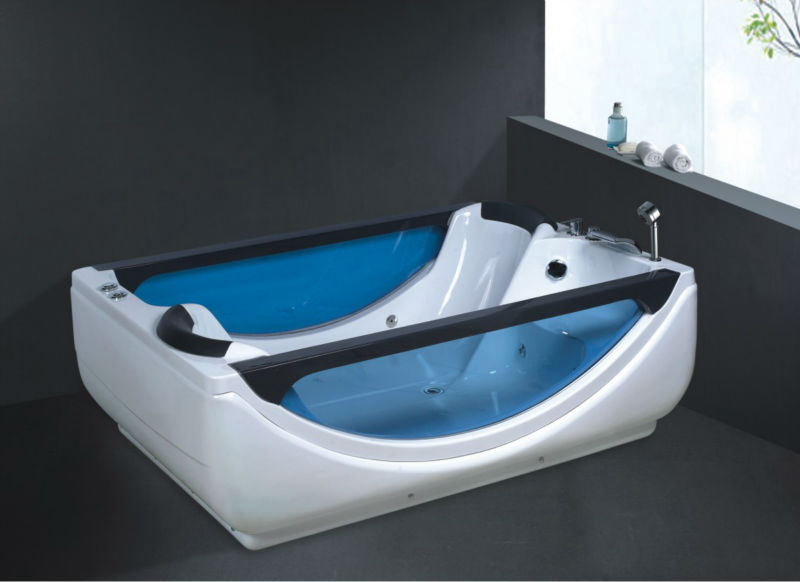 Two Person Freestanding Bathtub Double Portable No B268 Whirlpool Bath Tub In Bathtubs Whirlpools From Home Improvement On