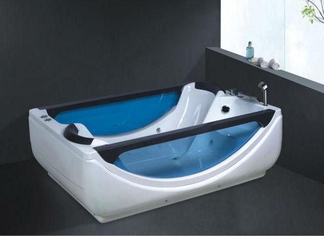 two person freestanding tub. Two Person Freestanding Bathtub Double Adult Portable  No B268 Whirlpool Bath