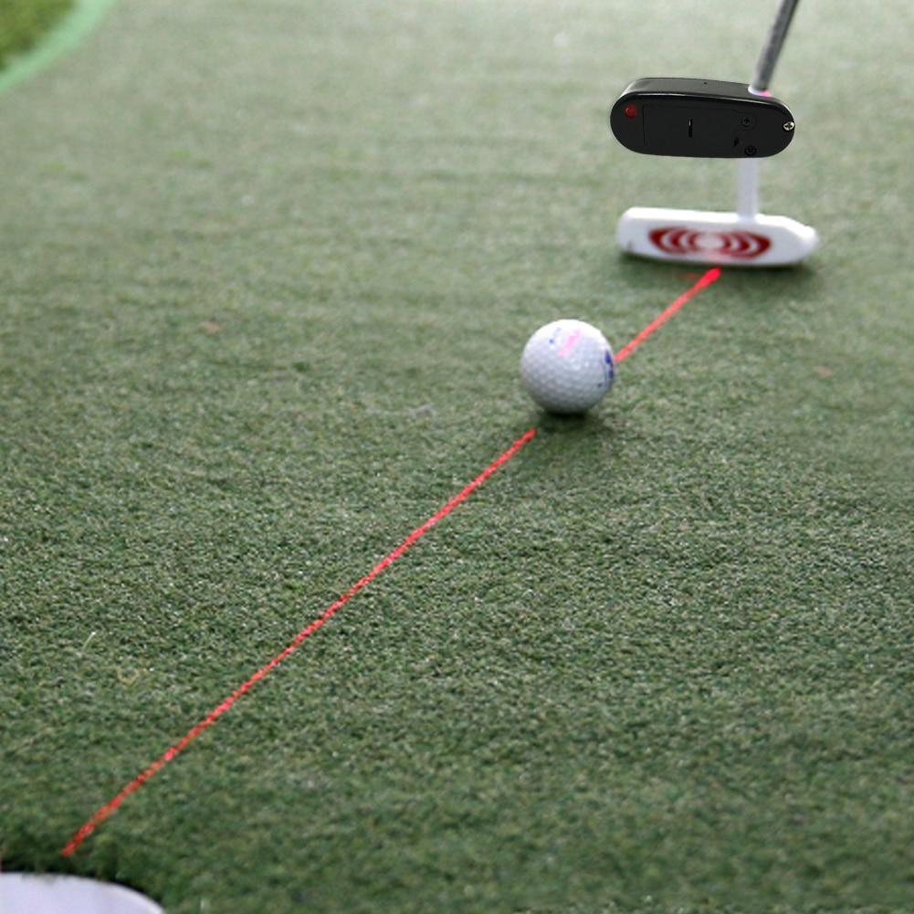 Laser Pointer Golf Putter - Training Aim Line Corrector for practice 1