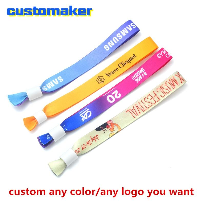 custom made Cloth Wristbands