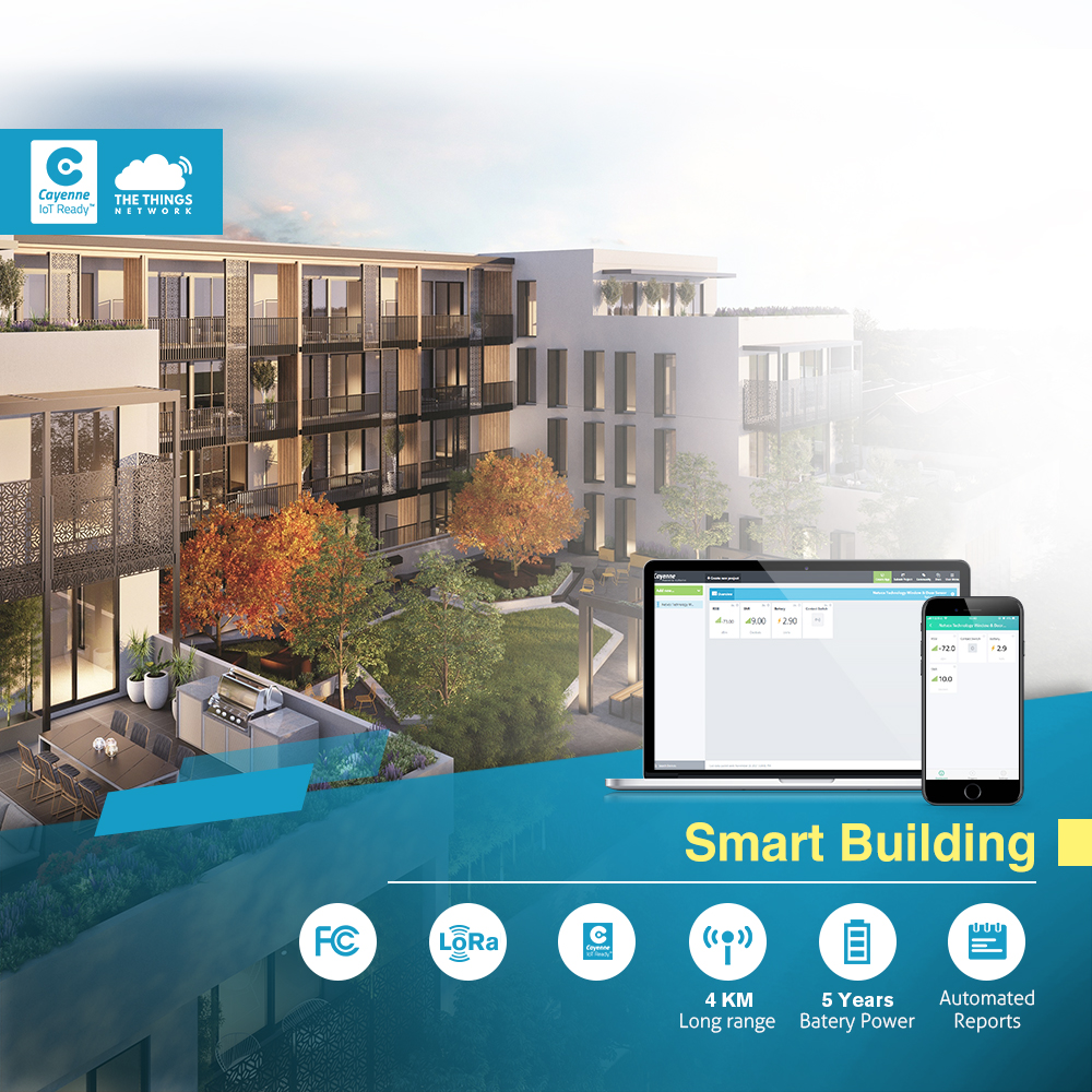 Solution IoT kit d'entreprise LoRaWan bâtiment intelligent LoRaWAN porte pilote avec Raspberry Pi 433/868/915/AS923 dans TTN & My
