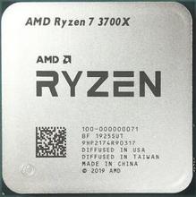 Nuevo procesador ryzen amd Ryzen 7 3700X3,6 GHz 8 Core 16 rosca 65W de tercera generación ryzen enchufe AM4 caja sellada de escritorio con ventilador enfriador
