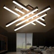 Современный светодиодный потолочный светильник дистанционного управления алюминиевый потолок освещения для спальни/гостиной закрытый потолочный светильник