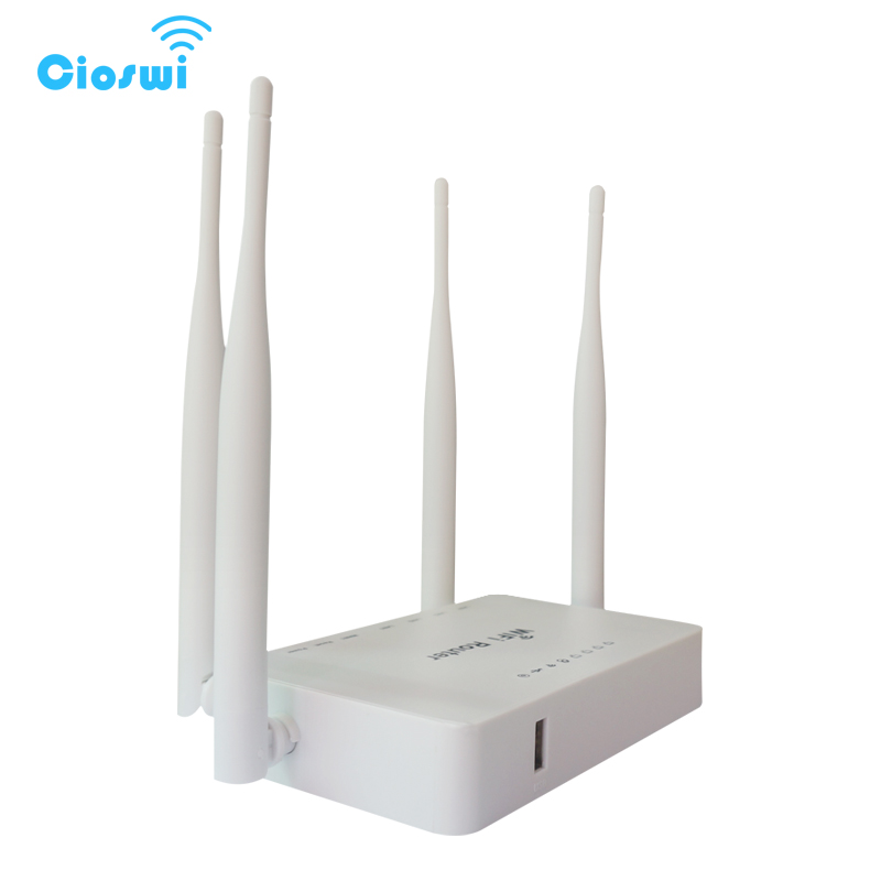 192 168 1 1 1 WAN 4 port openWRT usb modem wi fi router with 4 external  antennas support openwrt and zyxl omini II firmware