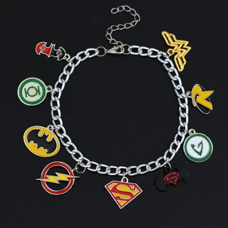 MQCHUN Justice league Flash Green Lantern Superman batman Wos