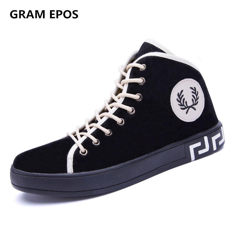GRAM EPOS 2017 New Autumn Male Winter Super cool lace up botas  High Top Casual Shoes For  Mens Fashion Shoes 2016 new autumn winter man casual shoes sport male leisure chaussure laced up basket shoes for adults black