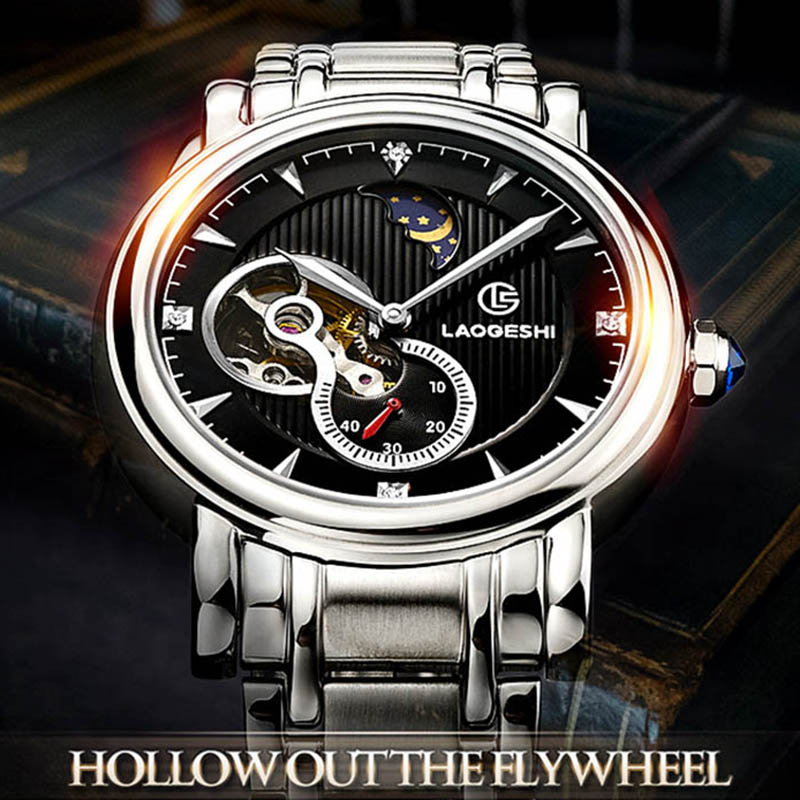 Fashion Automatic Men's Watch 40mm Luxury Brand Top Stainless Steel Mechanical Watches for Men Business Clock montre homme men luxury automatic mechanical watch fashion calendar waterproof watches men top brand stainless steel wristwatches clock gift
